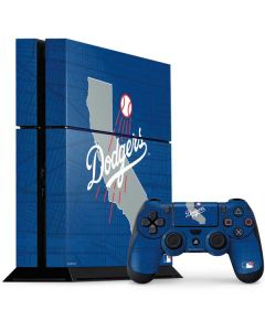 Los Angeles Dodgers Home Turf PS4 Console and Controller Bundle Skin