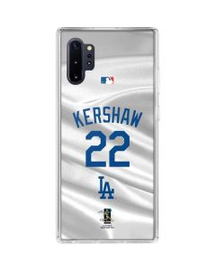 Los Angeles Dodgers Kershaw #22 Galaxy Note 10 Plus Clear Case