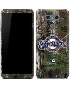 Milwaukee Brewers Realtree Xtra Green Camo LG G6 Skin