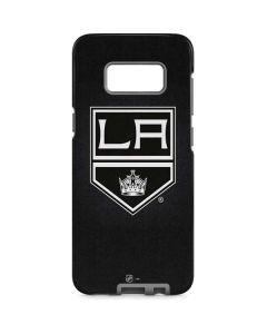 Los Angeles Kings Black Background Galaxy S8 Pro Case