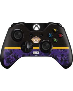 Los Angeles Kings Retro Tropical Print Xbox One Controller Skin
