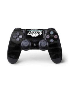 Los Angeles Lakers Black Animal Print PS4 Pro/Slim Controller Skin