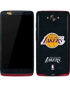 Los Angeles Lakers Black Primary Logo Motorola Droid Skin