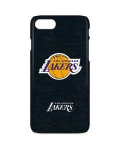 Los Angeles Lakers Black Primary Logo iPhone 8 Lite Case