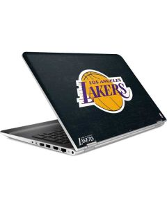 Los Angeles Lakers Black Primary Logo HP Pavilion Skin