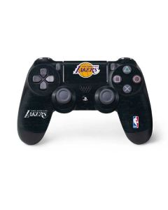 Los Angeles Lakers Black Primary Logo PS4 Controller Skin