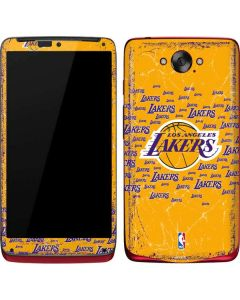 Los Angeles Lakers Blast Motorola Droid Skin