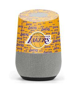 Los Angeles Lakers Blast Google Home Skin