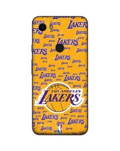 Los Angeles Lakers Blast Google Pixel 3a Skin