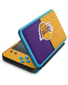 Los Angeles Lakers Canvas 2DS XL (2017) Skin
