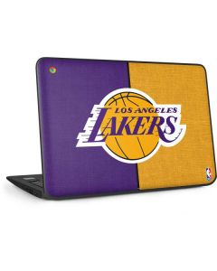 Los Angeles Lakers Canvas HP Chromebook Skin