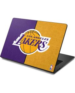 Los Angeles Lakers Canvas Dell Chromebook Skin