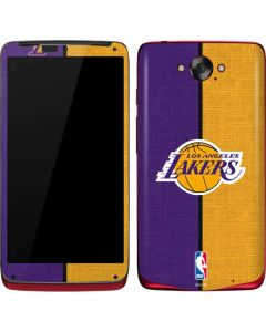 Los Angeles Lakers Canvas Motorola Droid Skin