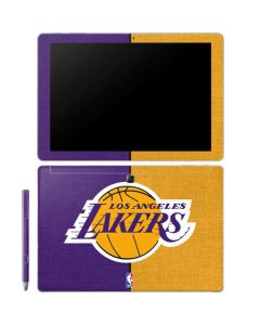 Los Angeles Lakers Canvas Galaxy Book 12in Skin