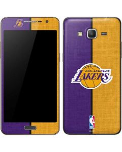 Los Angeles Lakers Canvas Galaxy Grand Prime Skin
