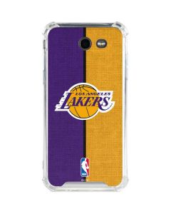 Los Angeles Lakers Canvas Galaxy J3 (2017) Clear Case