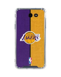 Los Angeles Lakers Canvas Galaxy J7 (2017) Clear Case