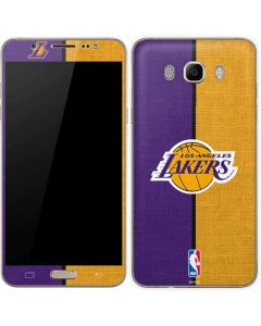 Los Angeles Lakers Canvas Galaxy J7 Skin