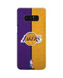 Los Angeles Lakers Canvas Galaxy Note 8 Lite Case