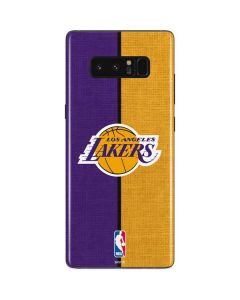 Los Angeles Lakers Canvas Galaxy Note 8 Skin