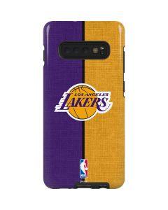 Los Angeles Lakers Canvas Galaxy S10 Plus Pro Case