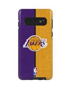 Los Angeles Lakers Canvas Galaxy S10 Pro Case