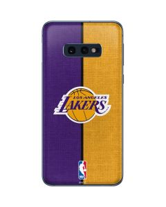 Los Angeles Lakers Canvas Galaxy S10e Skin