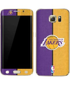 Los Angeles Lakers Canvas Galaxy S6 edge+ Skin
