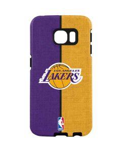 Los Angeles Lakers Canvas Galaxy S7 Edge Pro Case