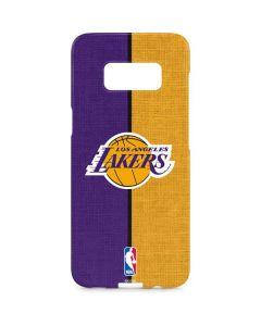 Los Angeles Lakers Canvas Galaxy S8 Plus Lite Case
