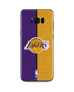 Los Angeles Lakers Canvas Galaxy S8 Skin
