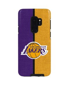 Los Angeles Lakers Canvas Galaxy S9 Plus Pro Case