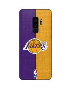 Los Angeles Lakers Canvas Galaxy S9 Plus Skin
