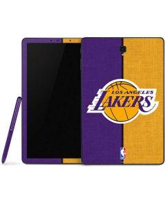 Los Angeles Lakers Canvas Samsung Galaxy Tab Skin