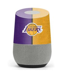 Los Angeles Lakers Canvas Google Home Skin