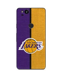 Los Angeles Lakers Canvas Google Pixel 2 Skin