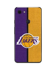 Los Angeles Lakers Canvas Google Pixel 3 XL Skin