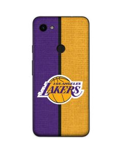 Los Angeles Lakers Canvas Google Pixel 3a Skin