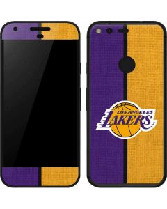 Los Angeles Lakers Canvas Google Pixel Skin