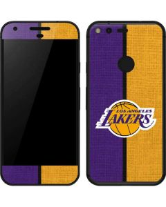 Los Angeles Lakers Canvas Google Pixel XL Skin