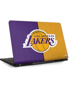 Los Angeles Lakers Canvas Dell Inspiron Skin
