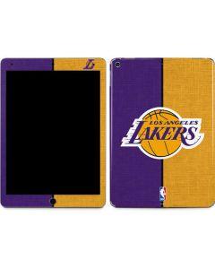 Los Angeles Lakers Canvas Apple iPad Air Skin