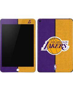 Los Angeles Lakers Canvas Apple iPad Mini Skin