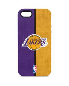 Los Angeles Lakers Canvas iPhone 5/5s/SE Pro Case
