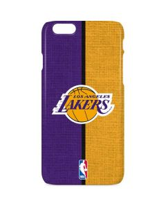 Los Angeles Lakers Canvas iPhone 6s Lite Case