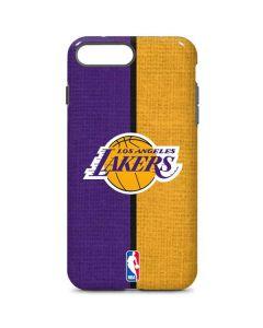 Los Angeles Lakers Canvas iPhone 7 Plus Pro Case