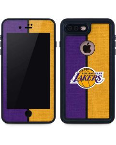 Los Angeles Lakers Canvas iPhone 7 Plus Waterproof Case