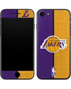 Los Angeles Lakers Canvas iPhone 7 Skin