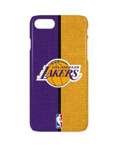 Los Angeles Lakers Canvas iPhone 8 Lite Case