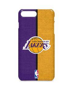 Los Angeles Lakers Canvas iPhone 8 Plus Lite Case